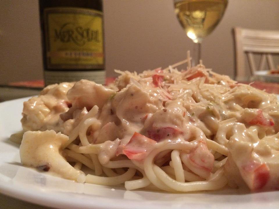 Lobster pasta the winey foodies for How to make lobster pasta